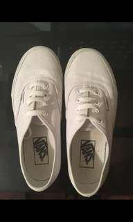 Vans Shoes - White (size 6)