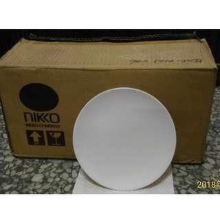 日本名牌精品NIKKO日光骨瓷盤