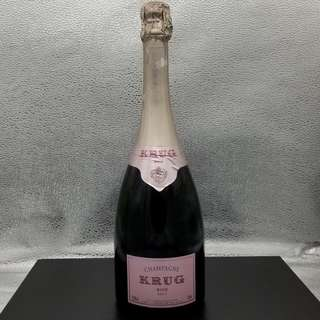 Old 2000 Krug Rose NV Champagne Wine