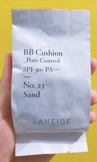 Laneige Pore Control Cushion REFILL in 23 Sand
