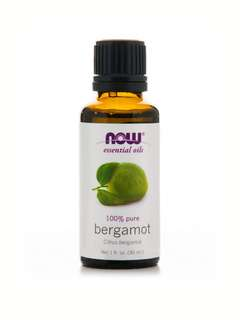 Bergamot Essential Oil 30ml by NOW Foods