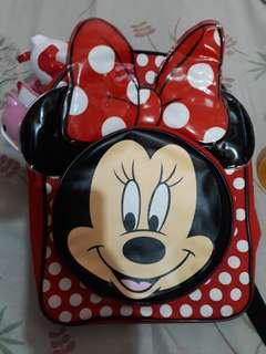 Minnie Mouse Knapsack Bag (mini)