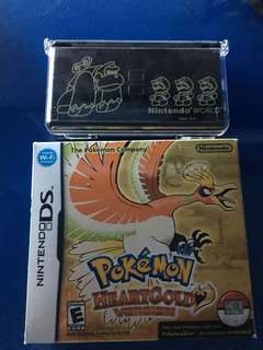 Pokemon Heartgold and Limited Edition DS Lite