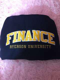 Ryerson Hoodie- Finance