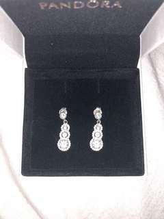 Prouds sterling silver earrings