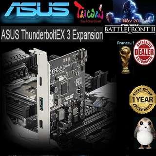 ASUS THUNDERBOLTEX 3 TB3 PCI-E CARD ( 1 Years Warranty )