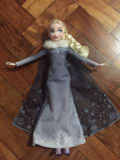Singing Elsa from Olaf's adventure