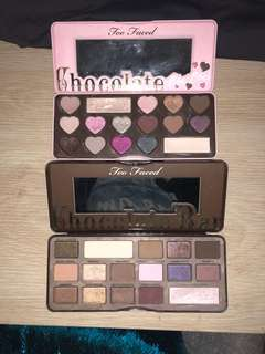 Too Faced Chocolate Palettes