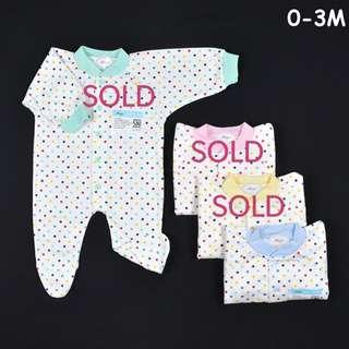 BN ✔️ IN-STOCK~ Baby Sleepsuit - Newborn Sleepsuit