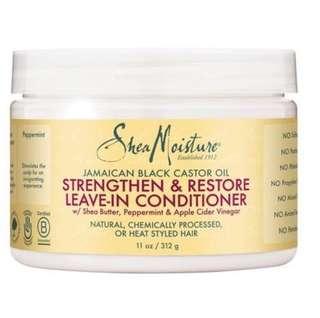 SheaMoisture Jamaican Black Castor Oil Reparative Leave-In Conditioner - 11oz