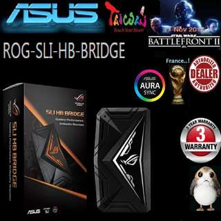 ASUS ROG SLI HB BRIDGE AURA 3 SLOT (3 Years Warranty)