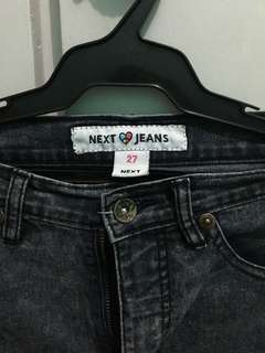 NEXT TATTERED JEANS