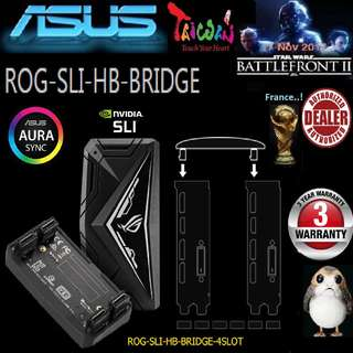 ASUS 4 SLOT SLI HB BRIDGE AURA (3 Years Warranty)