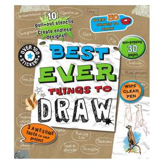 Best Ever Things to Draw – Hardcover