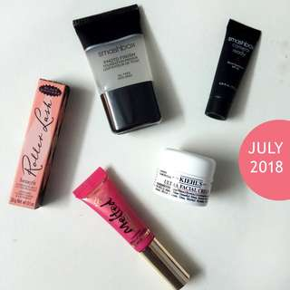 🚚 July 2018 // Benefit Cosmetics, Too Faced, Smashbox, Kiehl's