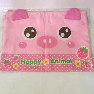 A4 Happy Animal - Piggy Folder