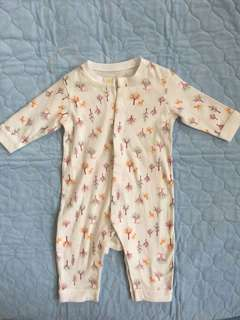 Uniqlo Baby Sleepsuit 3 to 6 months