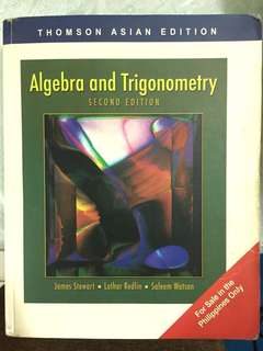 Algebra and Trigonometry 2nd Edition