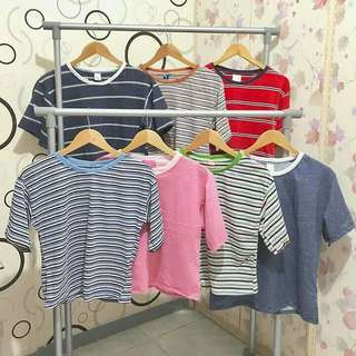 Retro Striped Tee/Nancy Top (Korean Inspired Shirt)