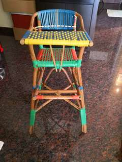 Baby chair (rattan)