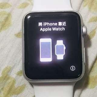 Apple Watch 第1代 42mm 8成新 跟盒 不要講價