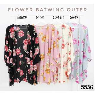 Flower batwing outer