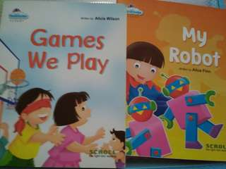 Scroll Readers- Games we play and My Robot