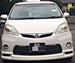 SAMBUNG BAYAR/CONTINUE LOAN  PERODUA ALZA EZI AUTO 1.5 YEAR 2011 MONTHLY RM 770 BALANCE 6 YEARS 5 MONTHS ROADTAX NOV 2018 LEATHER SEAT TIPTOP CONDITION  DP KLIK wasap.my/60133524312/alza