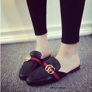 Flat Covered Shoes