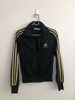Adidas Black & Gold Jacket