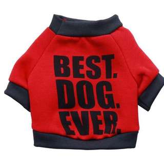 Best Dog Ever (Dog Clothes)