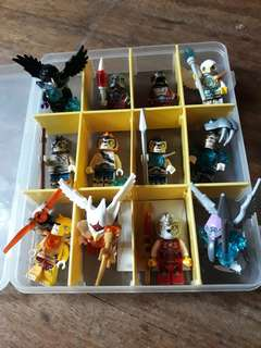 Lego Legends of Chima minifigs