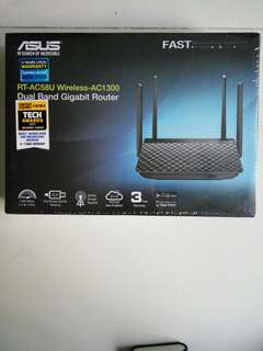 Asus RT-AC58U Wireless-AC1300 Dual Band Gigabit Router