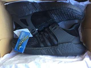 Adidas EQT Boost Support 93/17 Casual Triple Black