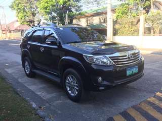 Toyota Fortuner 2013 model Manual trans