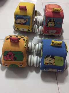 Baby Pull-back cars
