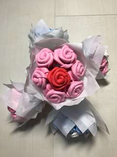 Mini Pink Rose Bouquet 3