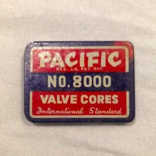 Vintage Pacific No 8000 Valve Cores International Standard
