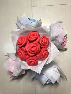 Mini Red Rose Bouquet