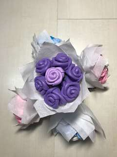 Mini Purple Rose Bouquet 2