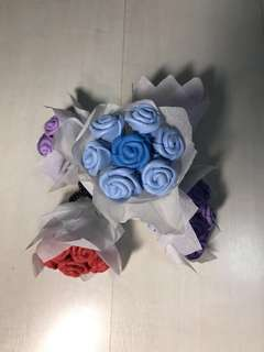 Mini Blue Rose Bouquet