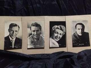 (Foto Kuno) Original 1950s MGM Actor/Actress Promo Portrait Photo