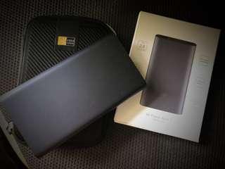 REPRICED!! Xiaomi powerbank + caselogic case