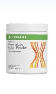 Herbalife Formula 3 protein powder /herbal concentrate