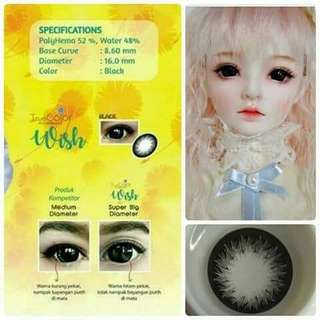 SOFTLENS WISH BLACK By FMT