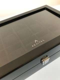英國品牌Aevitas 手錶木盒(原廠正貨)