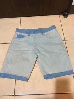 🚚 拼接短褲