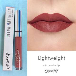 🚚 Colourpop Ultra Matte Lip