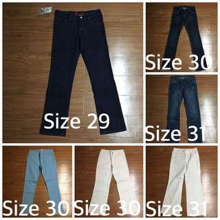 Size 29-31 Jeans