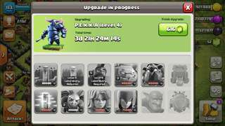 Clash of clans town hall 9 going max